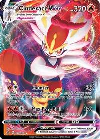 Cinderace VMAX, Pokemon, SWSH02: Rebel Clash