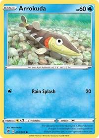 Arrokuda, Pokemon, SWSH02: Rebel Clash