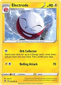 Electrode, Pokemon, SWSH02: Rebel Clash