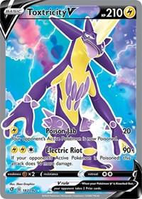 Toxtricity V (Full Art), Pokemon, SWSH02: Rebel Clash