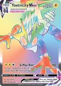 Toxtricity VMAX (Secret), Pokemon, SWSH02: Rebel Clash