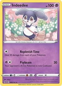 Indeedee, Pokemon, SWSH02: Rebel Clash