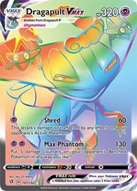 Dragapult VMAX (Secret), Pokemon, SWSH02: Rebel Clash