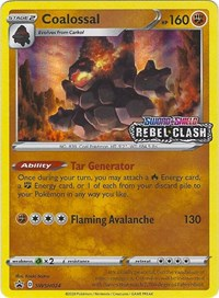 Coalossal - SWSH024 (Prerelease Promo), Pokemon, SWSH: Sword & Shield Promo Cards