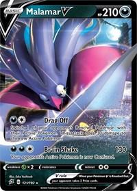 Malamar V, Pokemon, SWSH02: Rebel Clash
