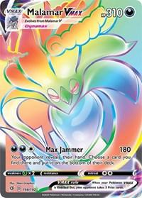 Malamar VMAX (Secret), Pokemon, SWSH02: Rebel Clash