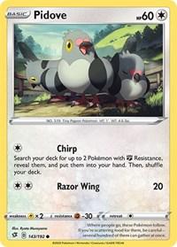 Pidove, Pokemon, SWSH02: Rebel Clash