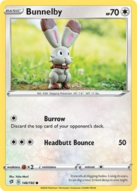 Bunnelby, Pokemon, SWSH02: Rebel Clash