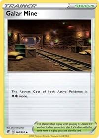 Galar Mine, Pokemon, SWSH02: Rebel Clash