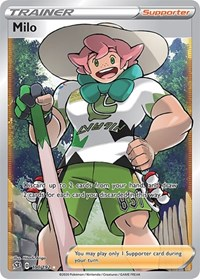 Milo (Full Art), Pokemon, SWSH02: Rebel Clash