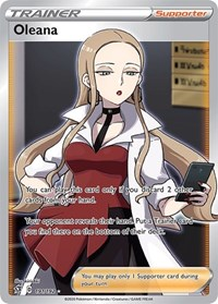 Oleana (Full Art), Pokemon, SWSH02: Rebel Clash
