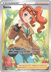 Sonia (Full Art), Pokemon, SWSH02: Rebel Clash