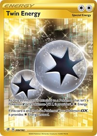 Twin Energy (Secret), Pokemon, SWSH02: Rebel Clash