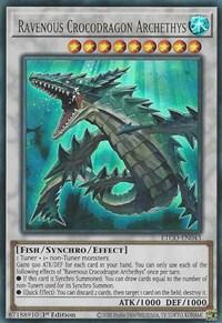 Ravenous Crocodragon Archethys, YuGiOh, Eternity Code