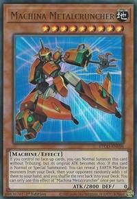 Machina Metalcruncher, YuGiOh, Eternity Code