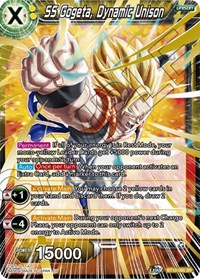 SS Gogeta, Dynamic Unison, Dragon Ball Super CCG, Rise of the Unison Warrior
