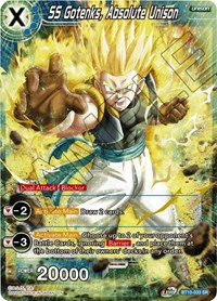 SS Gotenks, Absolute Unison, Dragon Ball Super CCG, Rise of the Unison Warrior