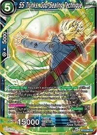 SS Trunks, God-Sealing Technique, Dragon Ball Super CCG, Rise of the Unison Warrior
