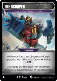 The Usurper, Transformers TCG, Titan Masters Attack