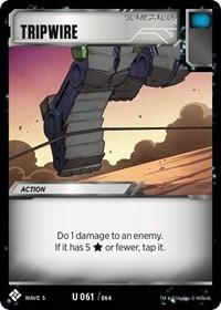 Tripwire, Transformers TCG, Titan Masters Attack