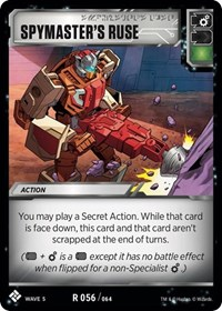 Spymaster's Ruse, Transformers TCG, Titan Masters Attack