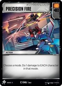Precision Fire, Transformers TCG, Titan Masters Attack