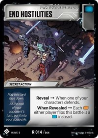 End Hostilities, Transformers TCG, Titan Masters Attack
