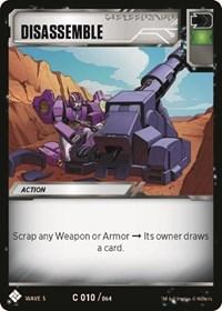 Disassemble, Transformers TCG, Titan Masters Attack