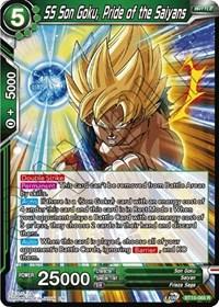 BT10-050 Lofty Aspirations Rare Near Mint Rise of the 9x Goku Black Rose