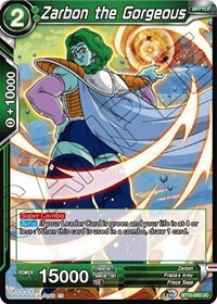 Zarbon the Gorgeous, Dragon Ball Super CCG, Rise of the Unison Warrior