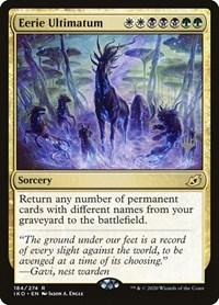 Eerie Ultimatum, Magic: The Gathering, Promo Pack: Ikoria