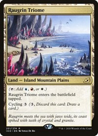 Raugrin Triome, Magic: The Gathering, Promo Pack: Ikoria