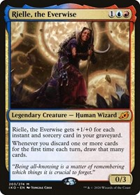 Rielle, the Everwise, Magic: The Gathering, Promo Pack: Ikoria