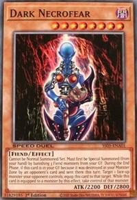Dark Necrofear, YuGiOh, Speed Duel Decks: Twisted Nightmares