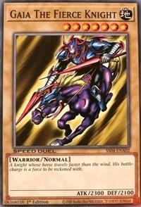Gaia The Fierce Knight, YuGiOh, Speed Duel Decks: Match of the Millennium