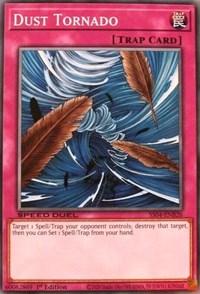 Dust Tornado, YuGiOh, Speed Duel Decks: Match of the Millennium