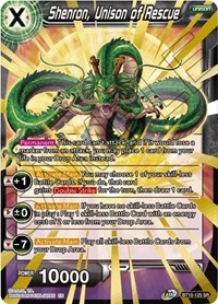 Shenron, Unison of Rescue, Dragon Ball Super CCG, Rise of the Unison Warrior