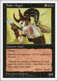 Fallen Angel, Magic, Fifth Edition