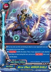 "FUTURE CARD BUDDYFIGHT MIRROR HERO MUKURO /""INFINITY DEATH CREST!!/"" S-UB05 RR"