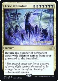 Eerie Ultimatum, Magic: The Gathering, Prerelease Cards