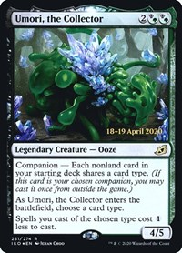 Umori, the Collector, Magic: The Gathering, Prerelease Cards
