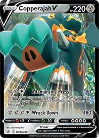 Copperajah V - SWSH030, Pokemon, SWSH: Sword & Shield Promo Cards
