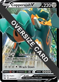 Copperajah V - SWSH030, Pokemon, Jumbo Cards