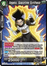 Vegeks, Spacetime Synthesis, Dragon Ball Super CCG, Rise of the Unison Warrior