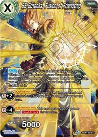 SS Gotenks, Fusion of Friendship, Dragon Ball Super CCG, Rise of the Unison Warrior