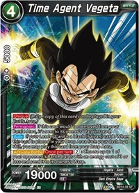 Time Agent Vegeta, Dragon Ball Super CCG, Rise of the Unison Warrior