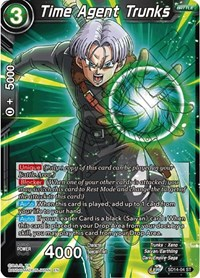 Time Agent Trunks, Dragon Ball Super CCG, Rise of the Unison Warrior
