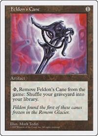 Feldon's Cane, Magic: The Gathering, Fifth Edition
