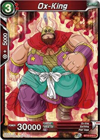 Ox-King, Dragon Ball Super CCG, Rise of the Unison Warrior