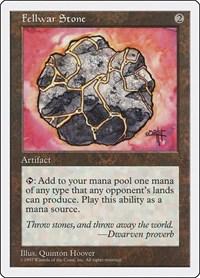 Fellwar Stone, Magic: The Gathering, Fifth Edition